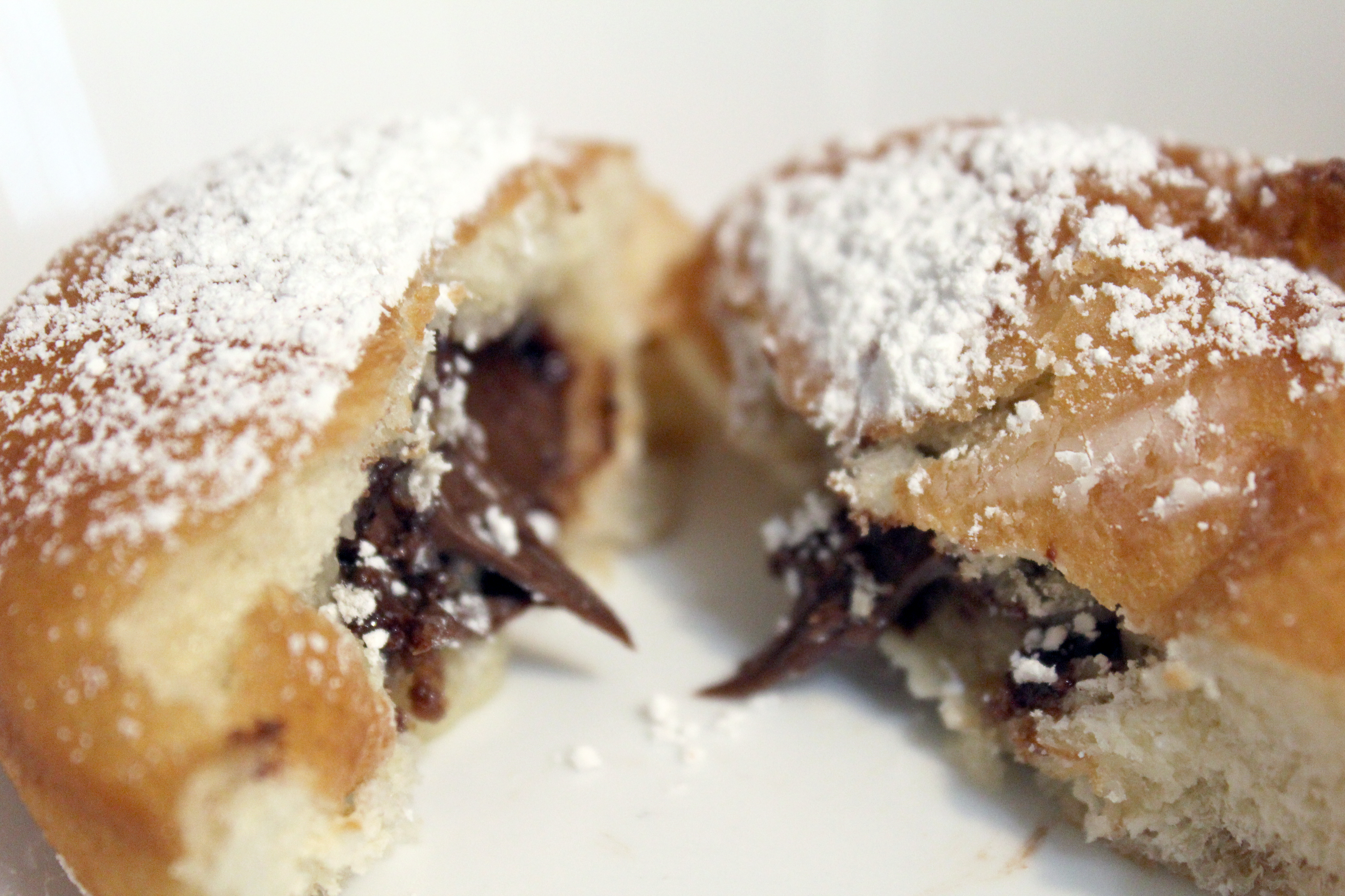 Chocolate Hazelnut Beignet